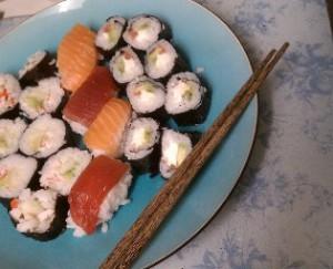 Калорийны ли суши