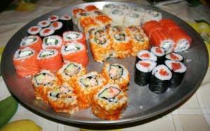 Начинка для роллов и суши в домашних условиях