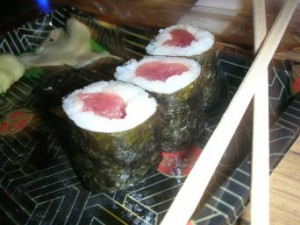 Роллы с лососем рецепт