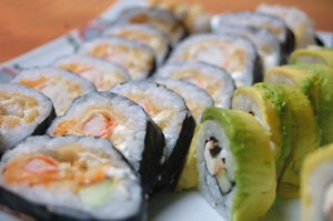 Рецепты суши в домашних